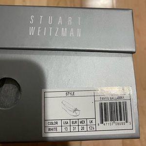 Stuart Weitzman Ballerina Flats-Girls Size 13-New